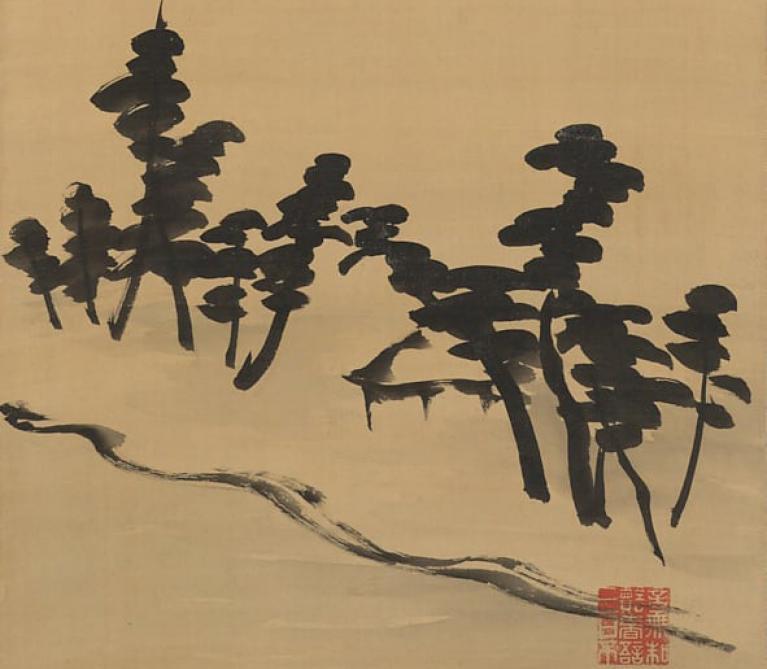 Tanomura Chokunyū - The Three Landscapes of Japan