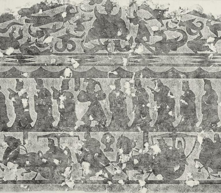 Procession of Nineteen Disciples of Confucius