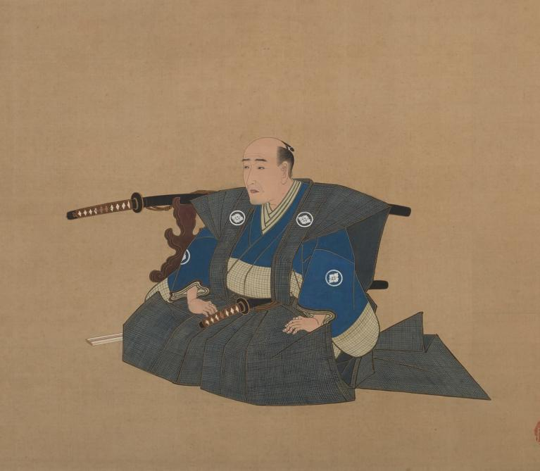 Portrait of a High-ranking Samurai by Utagawa Toyokuni