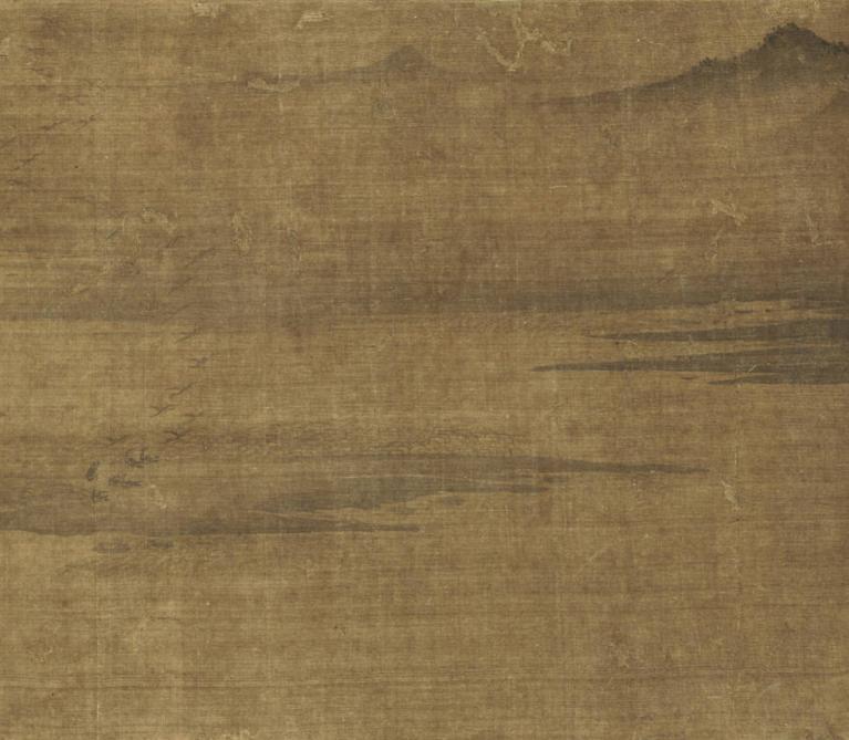 Artwork by:   Wang Hong . Artwork title: Eight Views of the Xiao and Xiang Rivers