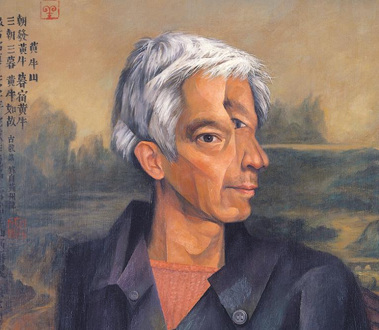 Zhang Hongtu - Self-Portrait in the Style of the Old Masters