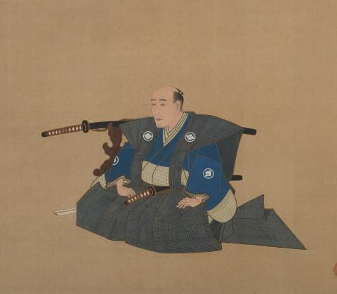 Portrait of a High-ranking Samurai by Utagawa Toyokuni